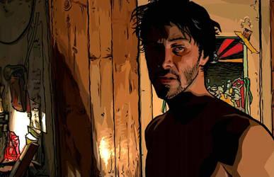 A Scanner Darkly Keanu Concept by PatrickThornton