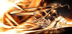 Ghost Rider Rage by PatrickThornton