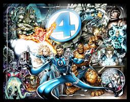 Fantastic Four Birthday Gift by PatrickThornton