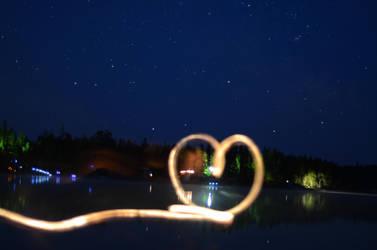 Long exposure, heart nellie lake by Anya-Hildebrandt