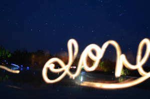 Long exposure picture of Nellie Lake, Love by Anya-Hildebrandt