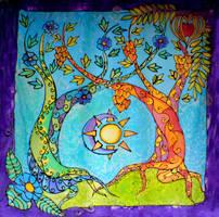 Two Trees by MirachRavaia