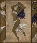 Taera's dance by MirachRavaia