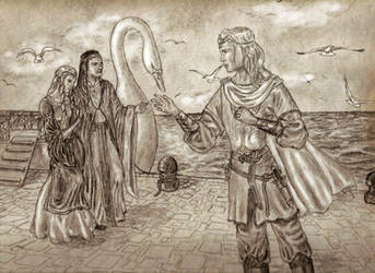 Reuniting in Valinor by MirachRavaia