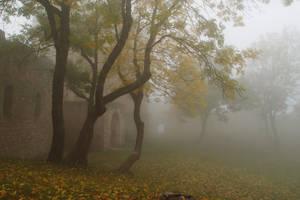 Mist-erious Castle by MirachRavaia
