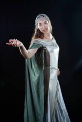 Book Arwen cosplay 2 by MirachRavaia