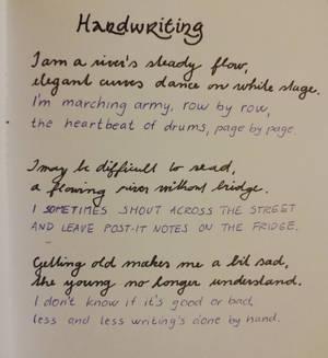 Handwriting by MirachRavaia