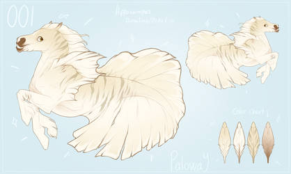 Pony Adoptable: Hippocamus Betta (SOLD) by Paloway