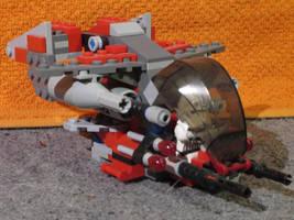 Shikra class Gunship by Darkjedi4