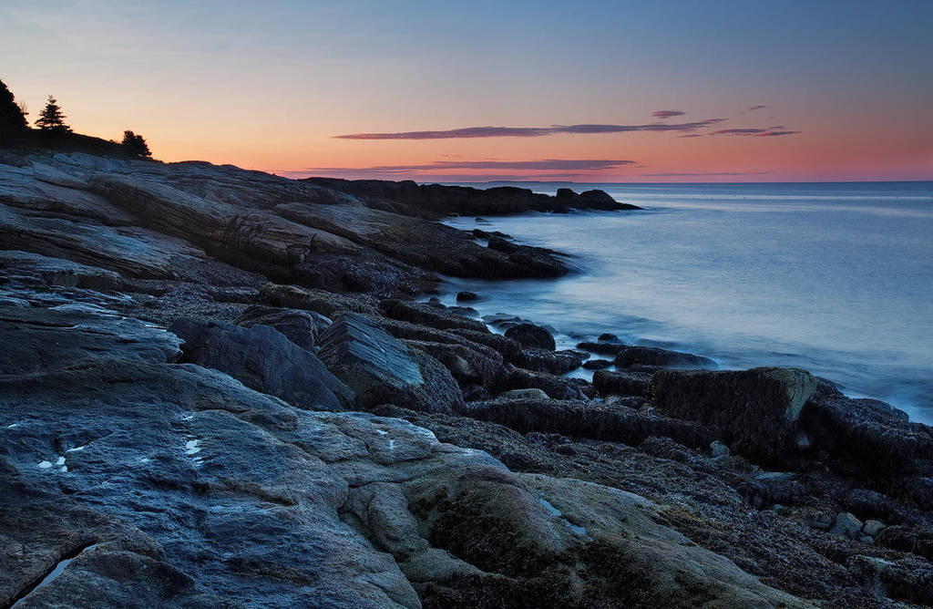 Ocean Point Morning by EvaMcDermott