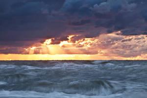 Angry Ocean by EvaMcDermott