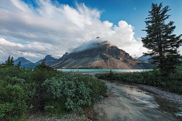 Crowfoot Mountain by EvaMcDermott