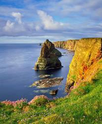 Golden Cliffs by EvaMcDermott