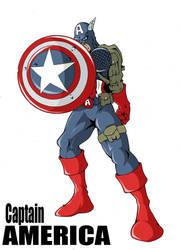 Captain America by UndeadComics