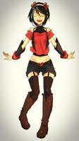Vocaloid - Clara by Okamisai