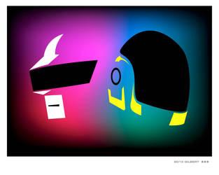 Gestalt Daft Punk by d4rkl1gh7