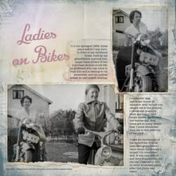 Ladies on Bikes by Eijaite