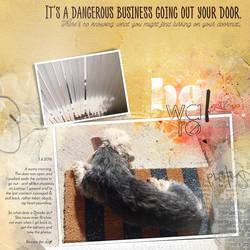 It's A Dangerous Business by Eijaite