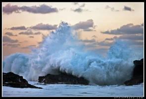 Shorebreak At Twilight by aFeinPhoto-com