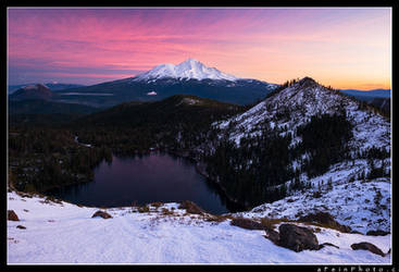 I Heart Shasta by aFeinPhoto-com