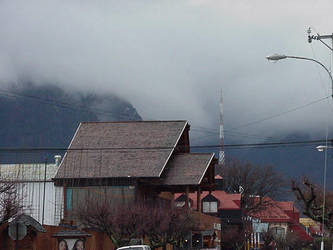 Fog in Pucon by nwinder