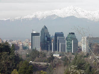 Santiago Skyline by nwinder