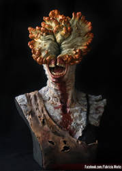 Clicker  1.1 scale bust from The Last of Us by FabricioWorks