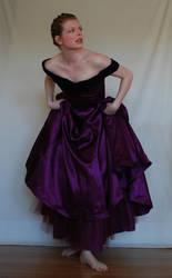 Purple Dress Stock by chamberstock