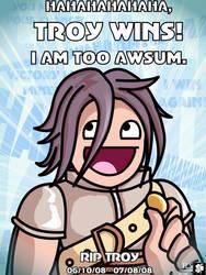 RO - Troy is AWSUM by trevmun