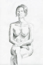 Life drawing 2011 1C by myp55