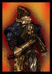 Rakion Swordsman Colored by ZethHolyblade