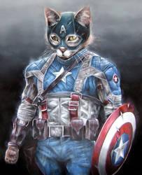 AVENGERS: Captain Ameowicat by CameronHarperArt