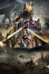 Avengers Infinity War by Ralfmef