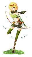 Elven Ranger by wuuki