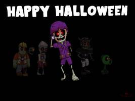Happy Halloween 2018! by ElectroDude-GW2