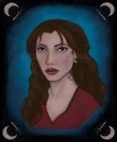Delya's Portrait by TellerofTales