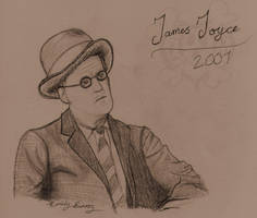 James Joyce by TellerofTales