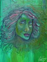 Green Lady by TellerofTales