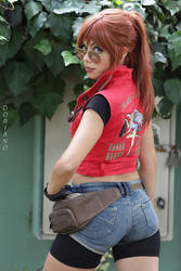 Resident Evil 2 Claire Redfield Cospl by ClajreFay