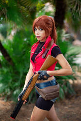 Resident Evil 2 Claire Redfield Cosplay by ClajreFay
