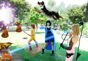 Final Fantasy VIII female group by ClajreFay