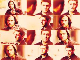 Sam_Dean_Winchester_Supernatural_Wallpaper by magicrubbish