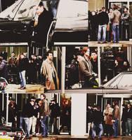 Jared_Jensen_Misha_On_Set_Supernatural by magicrubbish