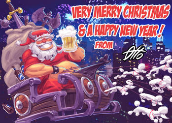 Merry Christmas 2014 by Ottinho
