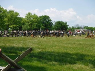 Confederate infantry by CrawlerEnder935