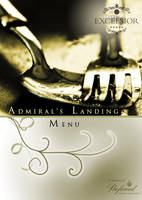 Dining Menu Brochure Front by mangion