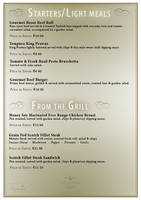 Dining Menu Brochure Inlay Pg1 by mangion