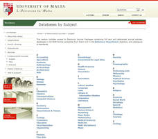 Library Website Screenshot 4 by mangion
