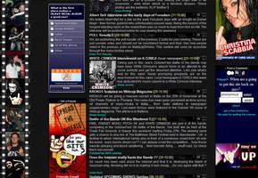 Heavy Metal Webzine 2 by mangion
