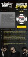 WSOP Poker Mailer by mangion